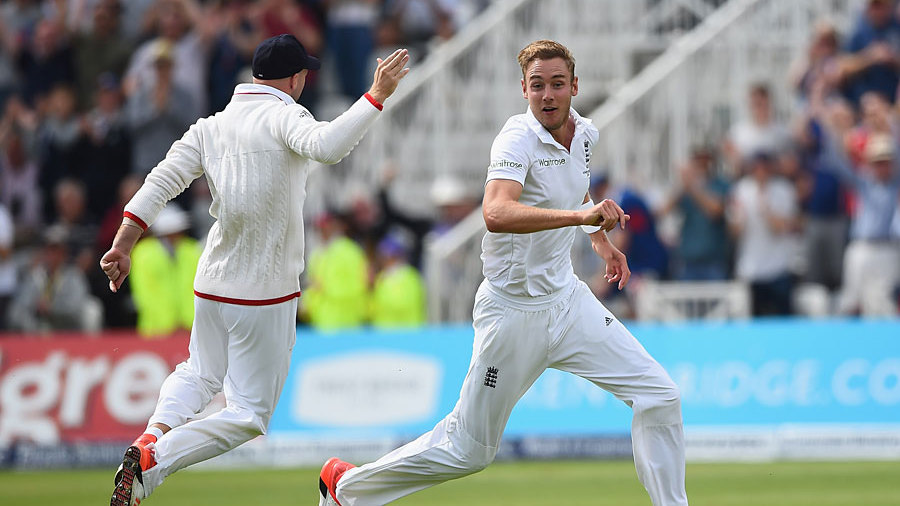 Record Bowling: Stuart Broad 8 wickets for 15 runs Ashes 2015 Highlights|Eng vs Aus