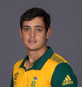 Quinton de Kock Cricinfo Yahoo Profile Stats Highlights