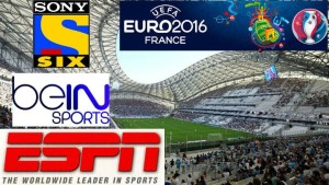 Uefa Euro 2016 Broadcasting TV Channels Rights Info Full Details