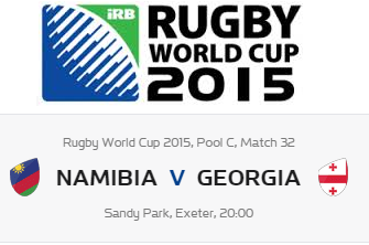 Namibia Vs Georgia Prediction Preview Rugby World Cup 2015