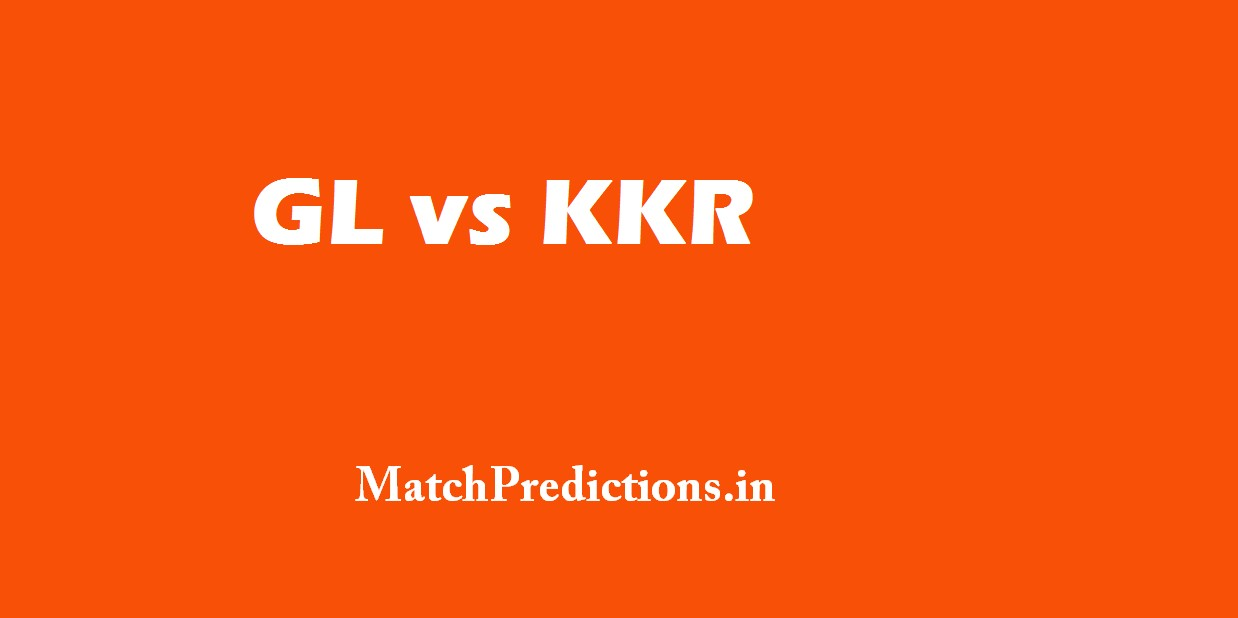 GL vs KKR, Gujarat Lions vs Kolkata Knight Riders Who Will Win Today Match Prediction