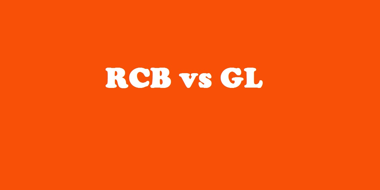 RCB vs GL, Royal Challengers Bangalore vs Gujarat Lions, 31st Match Who Will Win Today Match Prediction