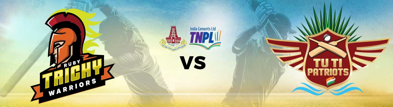 Ruby Trichy Warriors vs TUTI Patriots, 5th Match Ball By Ball Today Match Prediction