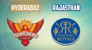 Rajasthan Royals vs Sunrisers Hyderabad-IPL 28th Match-Today Match Prediction