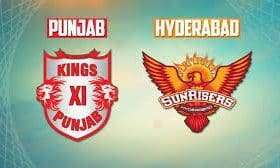 (*KXIP vs SH*) Kings XI Punjab vs Sunrisers Hyderabad-IPL 16th Match-Today Match Prediction