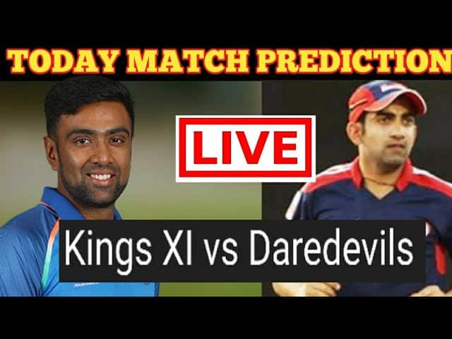 (*KXIP vs DD*), Kings XI Punjab vs Delhi Daredevils - 2nd IPL Match Today Match Prediction