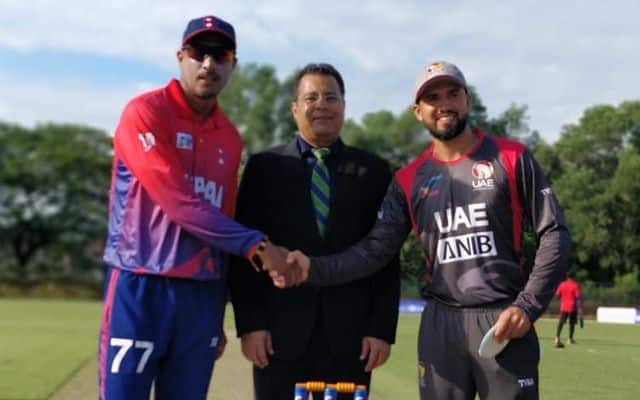 United Arab Emirates vs Nepal, 1st ODI